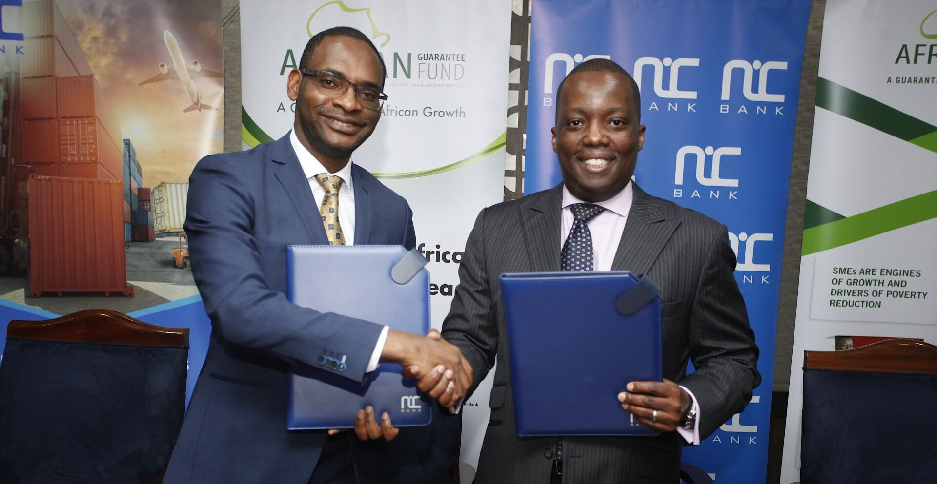 NIC BANK SIGNS A LOAN PORTFOLIO GUARANTEE WITH AGF