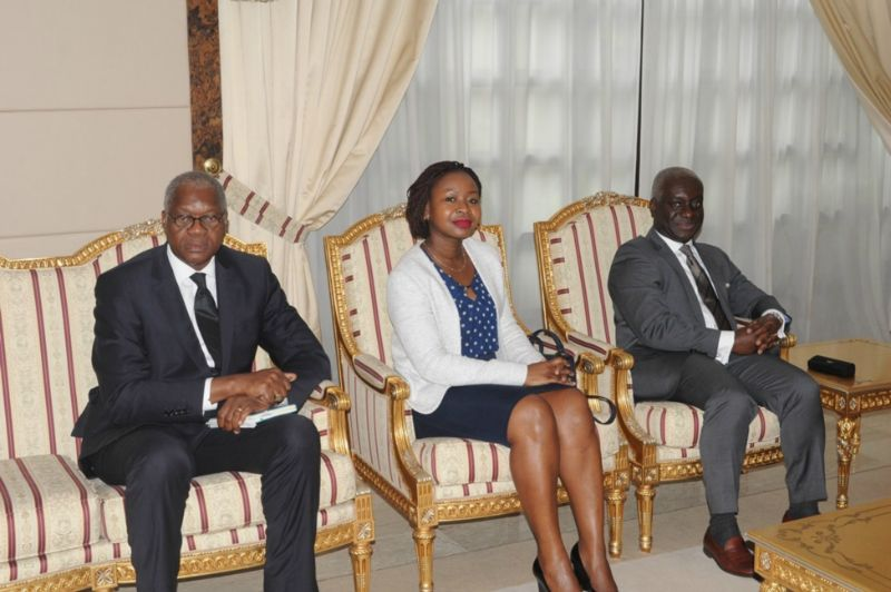 AGF DELEGATION MEETS PRESIDENT OF TOGOLESE REPUBLIC