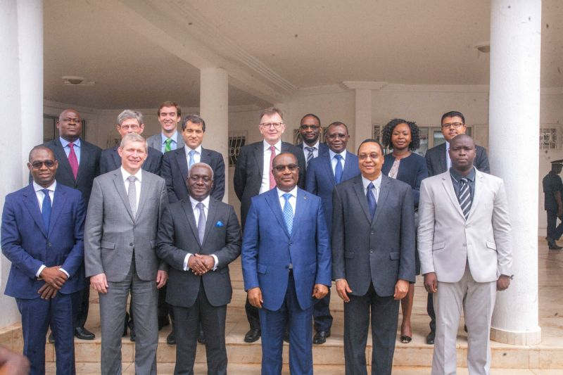 AGF Visit with Togolese Prime Minister