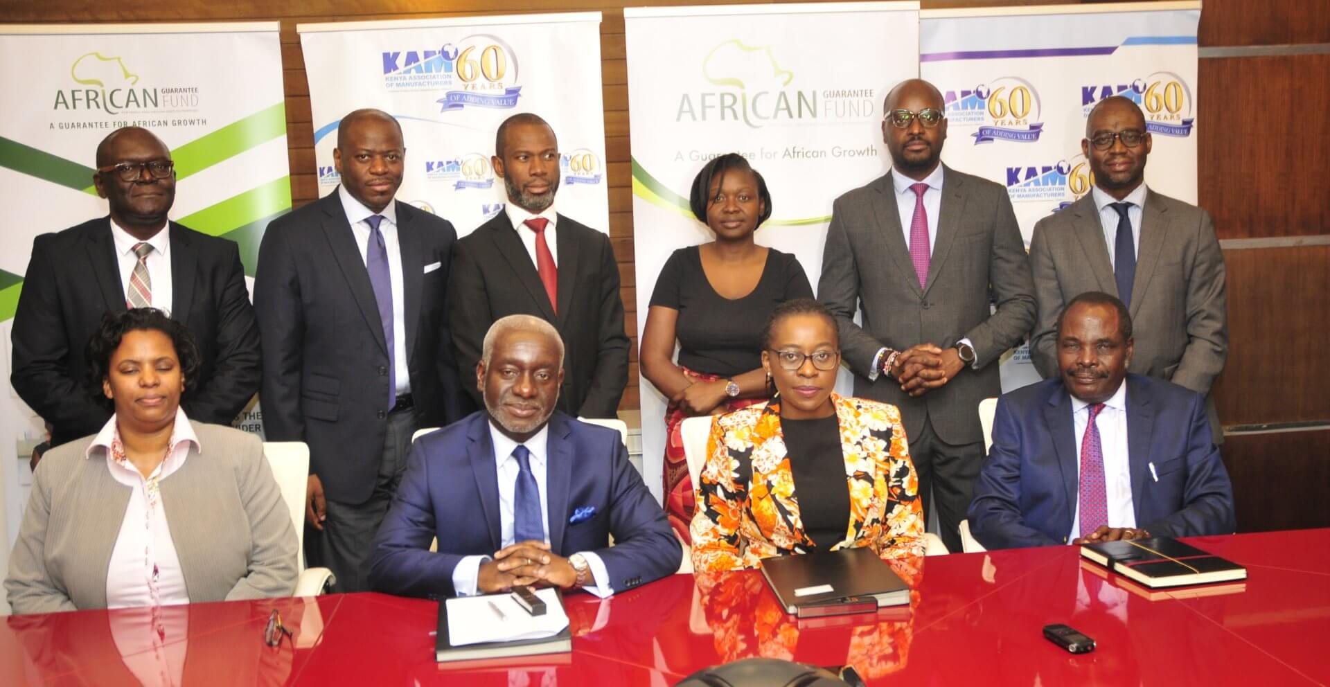 AGF SIGNS MOU WITH KENYA ASSOCIATION OF MANUFACTURERS