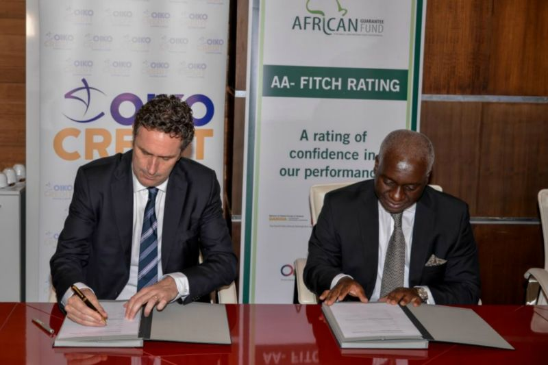 AGF and Oikocredit Signing Ceremony – January 25, 2018