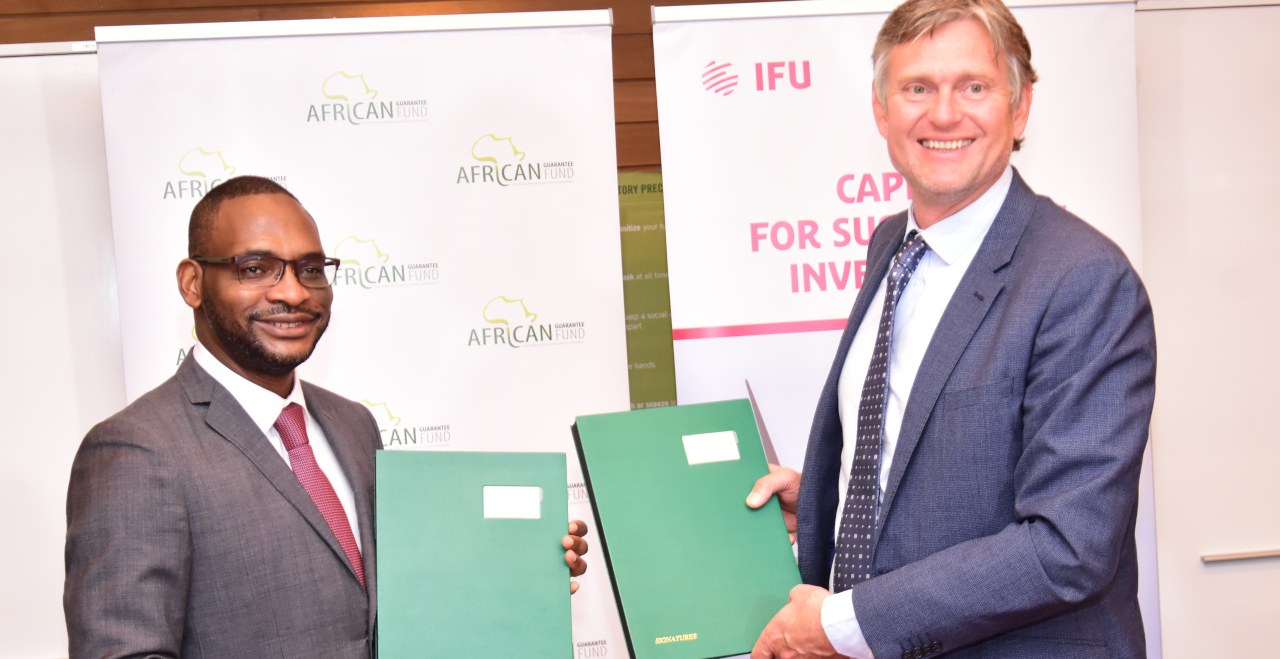 IFU ISSUES USD 20 MILLION CAPITAL INCREASE TO AGF FOR GREEN SME FINANCING