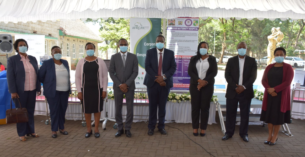 African Guarantee Fund Donates Essential Medical Equipment to Pumwani Maternity Hospital